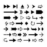 Forme della freccia illustrazione di stock