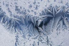 Forme della neve Fotografia Stock