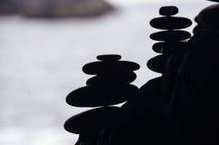 Forme della roccia Fotografia Stock