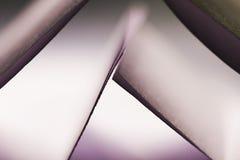 Forme di carta Fotografia Stock
