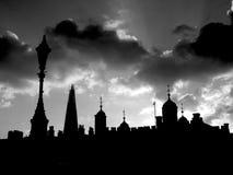 Forme di Londra Fotografia Stock