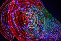 Forme di luce Fotografia Stock