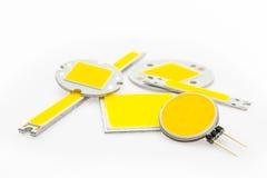 Forme differenti e chip potenti del LED Immagini Stock Libere da Diritti