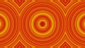Forme dinamiche del cerchio Cerchi animati astratti del caleidoscopio Riduzione dell'immagine dei cerchi nelle combinazioni color royalty illustrazione gratis