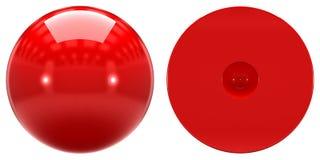 Forme du mouvement orbital 1s atomique sur le fond blanc Image libre de droits
