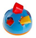 Forme el compaginador. Compaginador de la dimensión de una variable del juguete de Childs Fotografía de archivo