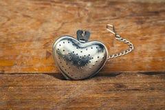 Forme en acier de coeur pour la valentine Images stock