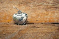 Forme en acier de coeur pour la valentine Image stock