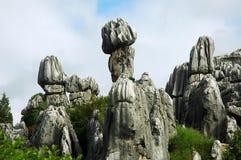 Forme en pierre magnifique Image libre de droits