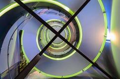 Forme en spirale Photographie stock libre de droits
