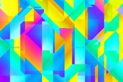 Forme et lignes abstraites Photo libre de droits