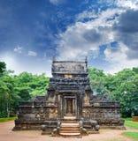 Forme générale de Nalanda Gedige Image stock