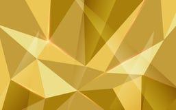 Forme géométrique abstraite de triagle avec la fusée légère sur le fond Photo stock