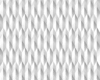 Forme géométrique de triangle tramée d'écran Fond noir Texture et modèle blancs pliage de papier plis Image libre de droits