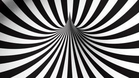 Forme géométrique noire et blanche Photos libres de droits