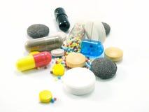 Forme galénique - drogue Photographie stock libre de droits