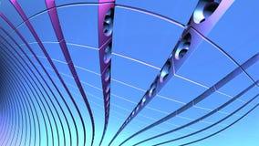 forme geometriche astratte 3d Fotografia Stock