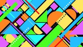 Forme geometriche creative Alpha Channel di transizione