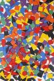 Forme geometriche di legno Immagine Stock