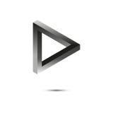 Forme impossible triangle Vecteur illustration de vecteur
