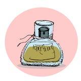 Forme la ilustración Parfums Foto de archivo