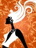 Forme a menina Imagens de Stock Royalty Free
