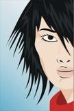 Forme o cabelo ilustração do vetor