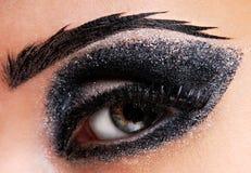Forme o olho Fotografia de Stock