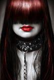 Forme o penteado e compo Imagem de Stock Royalty Free