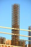 Forme ou moule industrielle de construction de Re-barre Photos stock