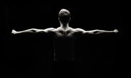 Forme physique artistique Photos libres de droits