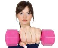 Forme physique avec le poids Photo stock