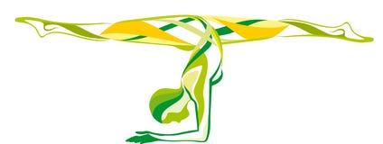 Forme physique, beauté, yoga Image libre de droits