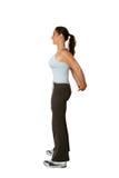Forme physique, bras retirés. Images libres de droits