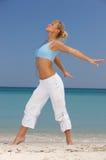 Forme physique chez les Caraïbe Photo libre de droits