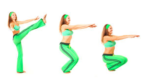 Forme physique, cyka, utile Photo libre de droits