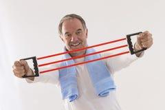 Forme physique d'homme supérieur Photographie stock libre de droits