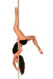 Forme physique de danse de Pôle Image libre de droits