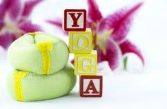 Forme physique de yoga Images libres de droits