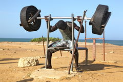 Forme physique en Afrique Photos stock
