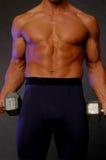 Forme physique mâle Photo stock