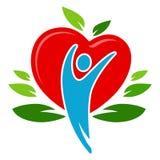 Forme physique naturelle de santé illustration libre de droits