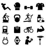 Forme physique, régime et vie saine Photographie stock