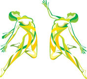 Forme physique, yoga, sport Images libres de droits