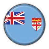 Forme ronde d'indicateur de bouton du Fiji Images libres de droits