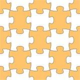 Forme sans joint de puzzle de vecteur illustration libre de droits