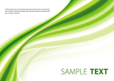 Forme verte illustration stock