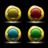 Forme vide abstraite d'icône Image libre de droits