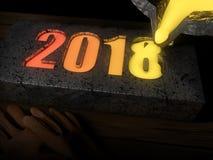 2018 melting pot Stock Photography