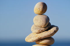 Formed Stones Royalty Free Stock Images